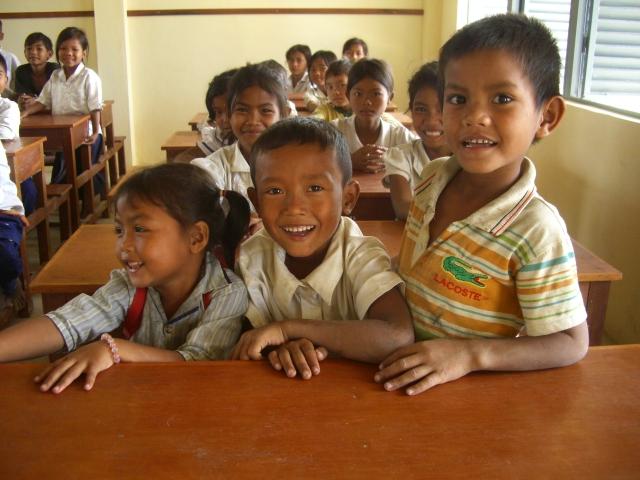 カンボジアの子どもたち